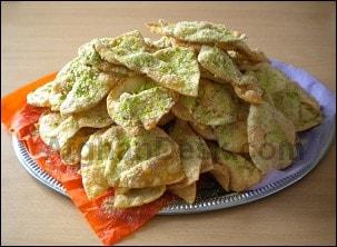 Afghan Parata Paratha sweet cake